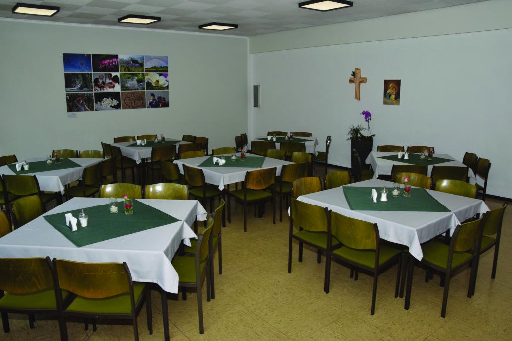 Speisesaal - Tischgruppen